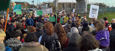crowd-at-protest-outside-heathrow