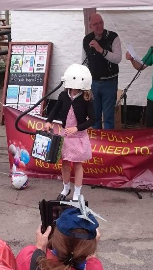 70th Birthday air pollution kit child