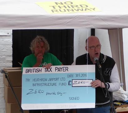 70th Birthday cheque