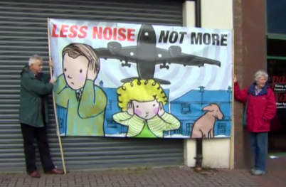 Belfast city protest less noise not more