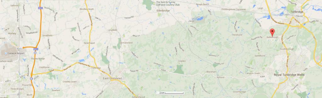 Bidborough, Tunbridge Wells etc