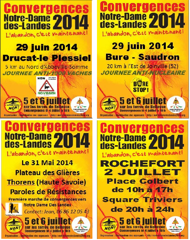 Convergences 4 posters