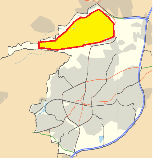 Crawley and Gatwick location