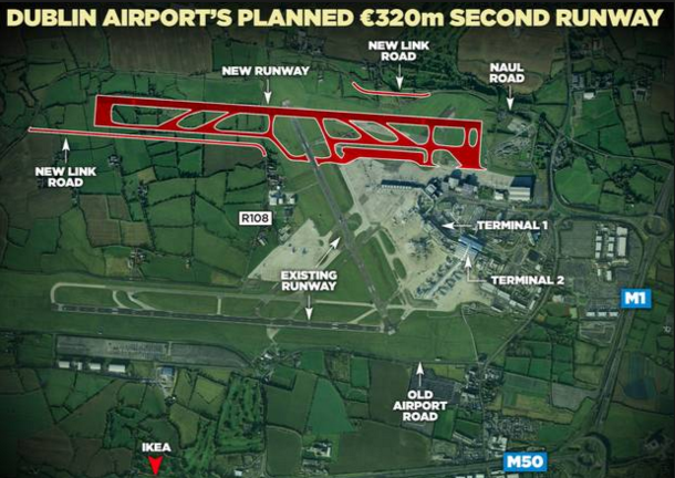 Dublin airport plan layout