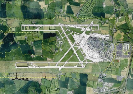 Dublin proposed northern runway
