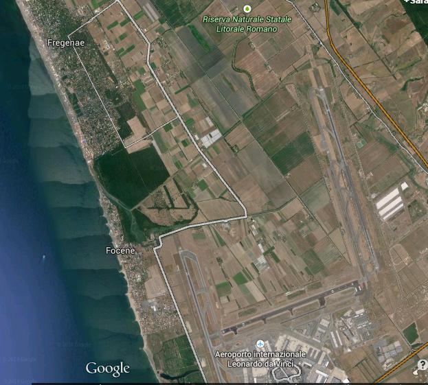 Fiumicino aerial Dec 2014