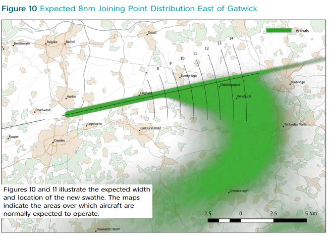 Gatwick east arrivals map 2.6.2016