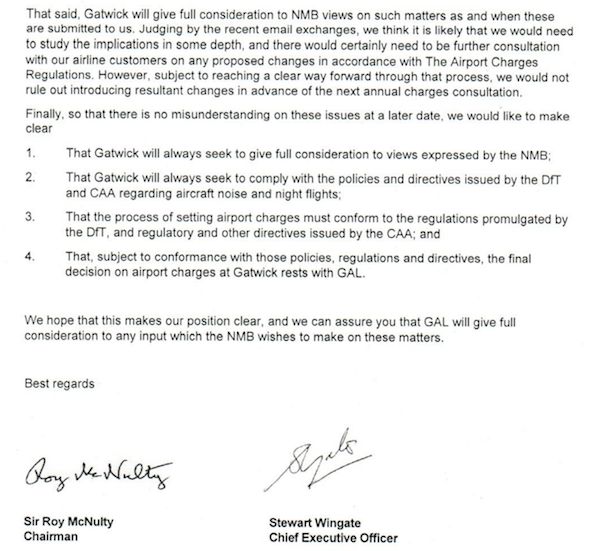 Gatwick letter page 2