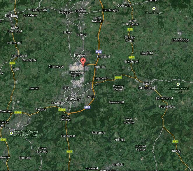 Gatwick location