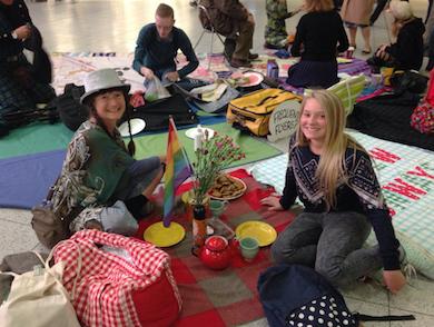 Gatwick picnic group