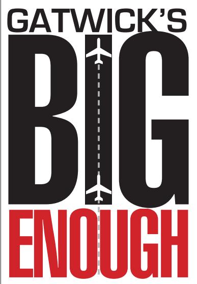 Gatwick's BIG enough