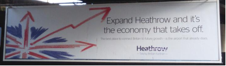 Heathrow advert October 2014
