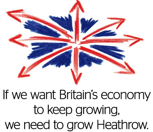 Heathrow advert Sept 2014