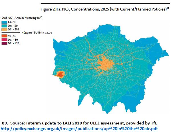 Heathrow air pollution Policy Exchange Nov 2015