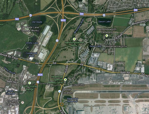 Heathrow and the M25