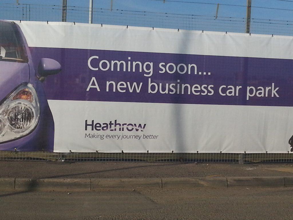 Heathrow car park