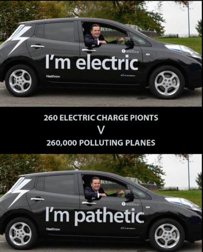 Heathrow electric pathetic Holland Kaye