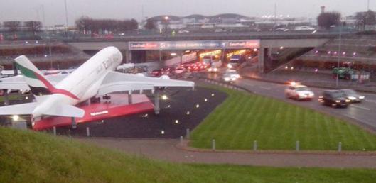 Heathrow entrance