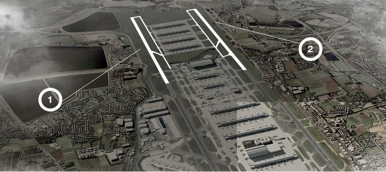 Heathrow hub runways