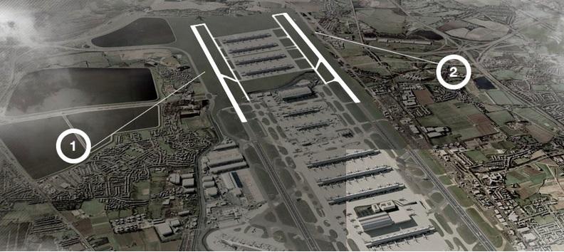 Heathrow hub runways