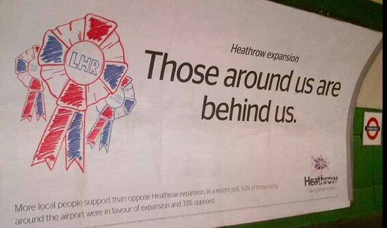 Heathrow neighbours ad Jan 2015