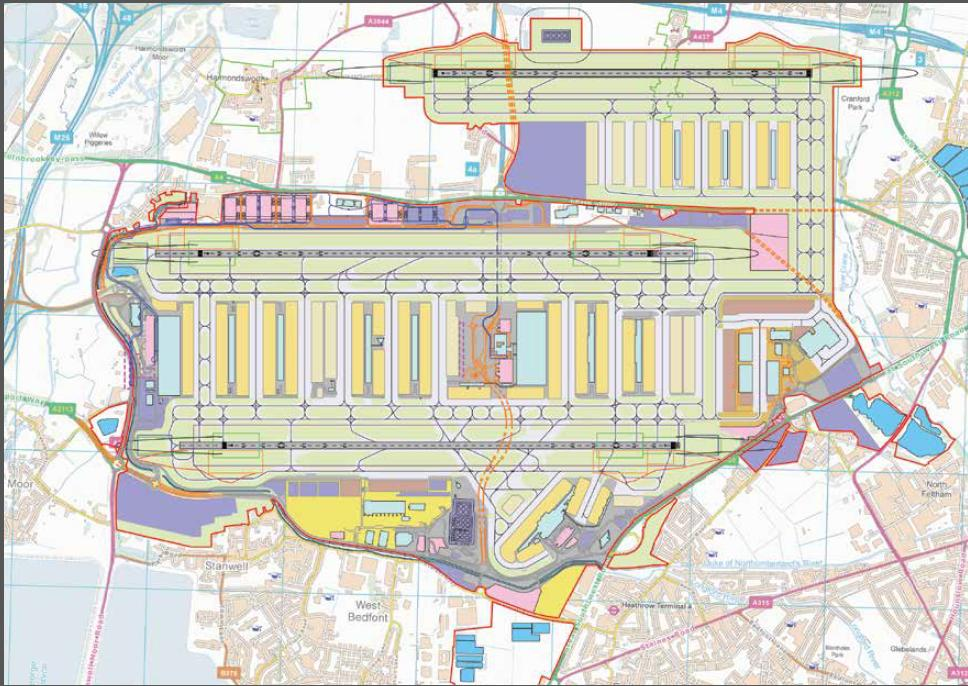 Heathrow north (shorter)  runway option 17.7.2013