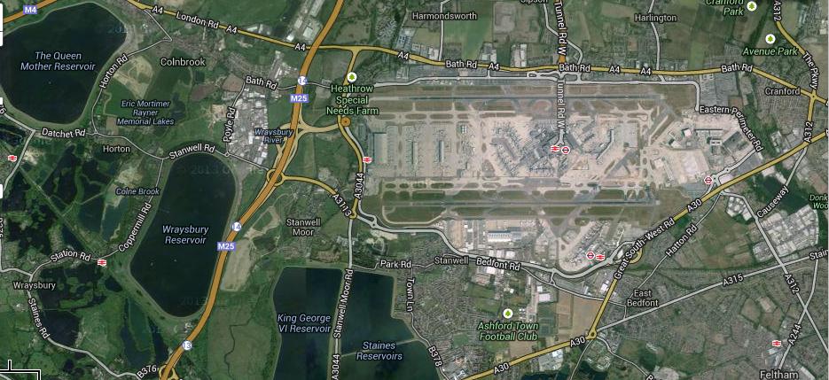 Heathrow now