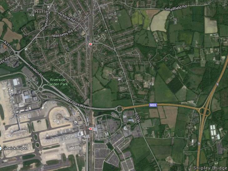 Horley industrial park area