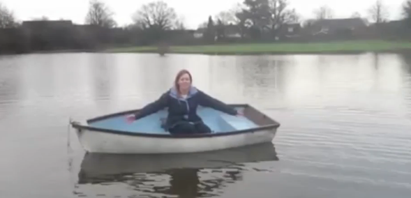 Horley teacher boat