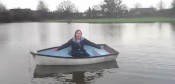 Horley teacher boat