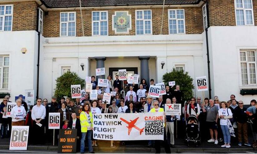 Horsham protest 3 .5.2014