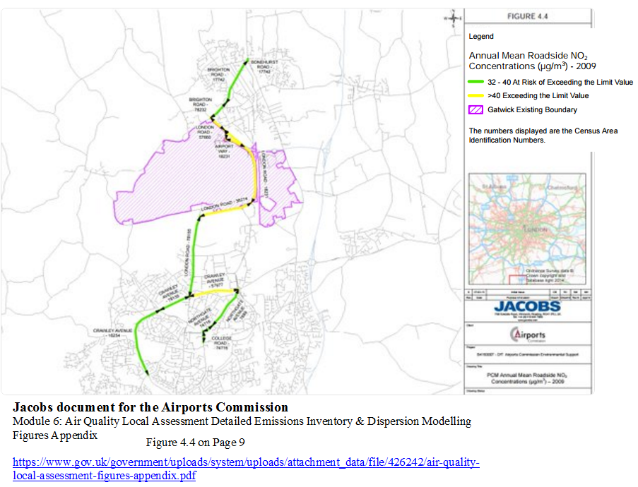 Jacobs on Gatwick air pollution 2009