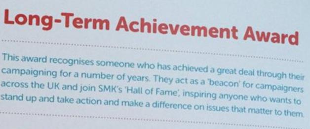John Stewart Long-Term achievement award