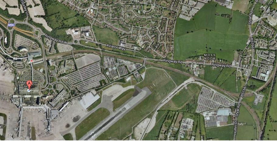 Manchester car park site  Moss Nook