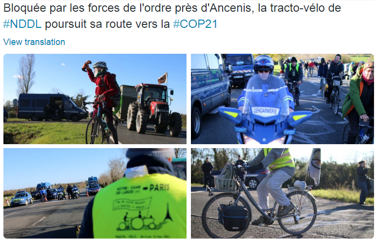 NDDL traco velo COP21