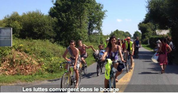 Nantes protest arrivals