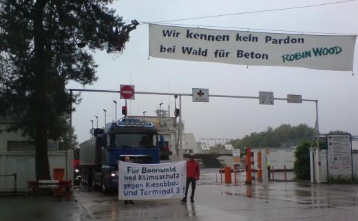 Robin Wood Frankfurt protest 28.8.2015