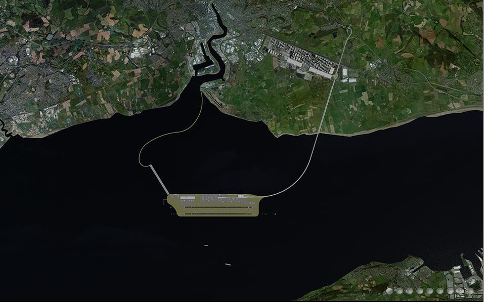 Severnside airport aerial concept