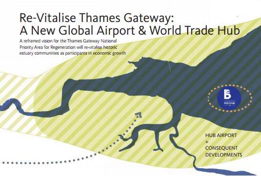 Thames gateway map