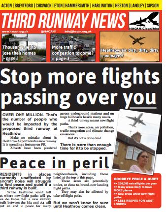 Third runway news