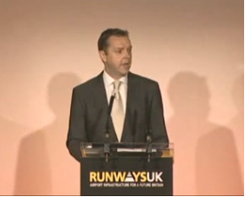 Tim Johnson speaking at RunwaysUK 2014