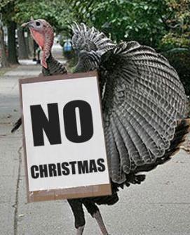 Turkeys don't vote for Christmas