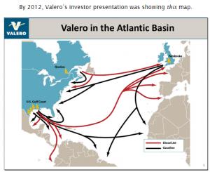 Valero tar sand oil