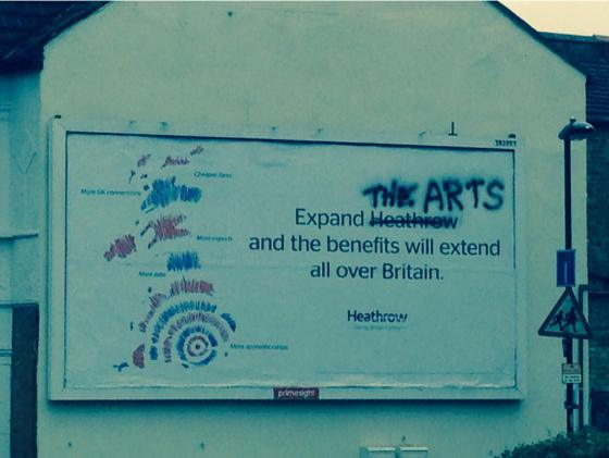 expand-the-arts-heathrow-advert-twickenham